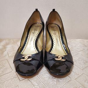 Juicy couture pump patent heels shoes sz#-9